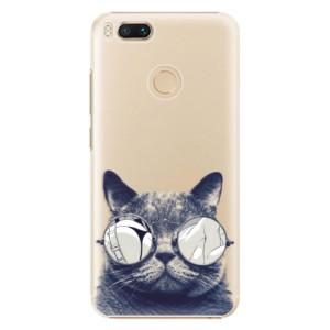 Plastové pouzdro iSaprio Šílená Číča 01 na mobil Xiaomi Mi A1