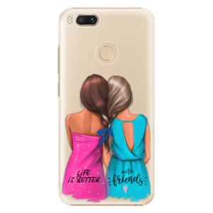 Plastové pouzdro iSaprio Best Friends na mobil Xiaomi Mi A1