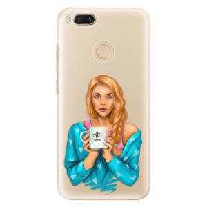 Plastové pouzdro iSaprio Coffee Now Zrzka na mobil Xiaomi Mi A1