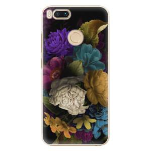 Plastové pouzdro iSaprio Temné Květy na mobil Xiaomi Mi A1