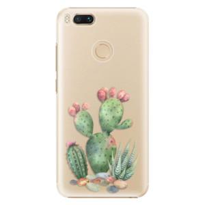 Plastové pouzdro iSaprio Kaktusy 01 na mobil Xiaomi Mi A1