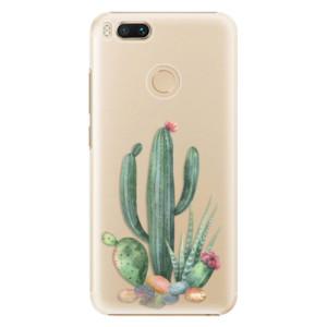 Plastové pouzdro iSaprio Kaktusy 02 na mobil Xiaomi Mi A1