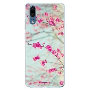 Plastové pouzdro iSaprio Blossom 01 na mobil Huawei P20