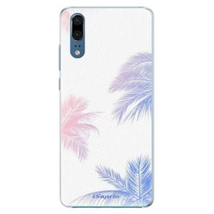 Plastové pouzdro iSaprio Palmy 10 na mobil Huawei P20