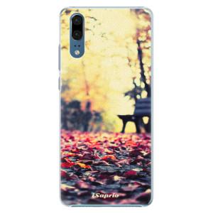 Plastové pouzdro iSaprio Bench 01 na mobil Huawei P20