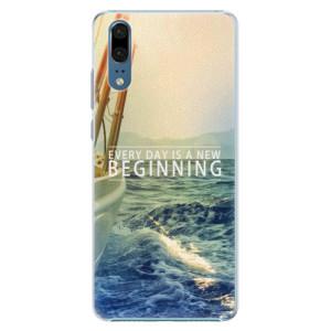 Plastové pouzdro iSaprio Beginning na mobil Huawei P20
