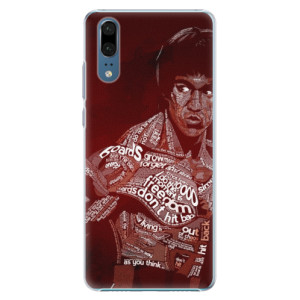 Plastové pouzdro iSaprio Bruce Lee na mobil Huawei P20