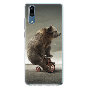 Plastové pouzdro iSaprio Medvěd 01 na mobil Huawei P20