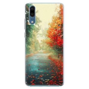 Plastové pouzdro iSaprio Podzim 03 na mobil Huawei P20