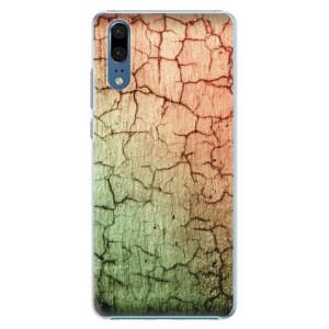 Plastové pouzdro iSaprio Rozpraskaná Zeď 01 na mobil Huawei P20