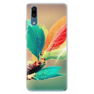 Plastové pouzdro iSaprio Podzim 02 na mobil Huawei P20