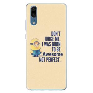Plastové pouzdro iSaprio Be Awesome na mobil Huawei P20