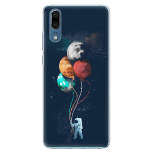 Plastové pouzdro iSaprio Balónky 02 na mobil Huawei P20