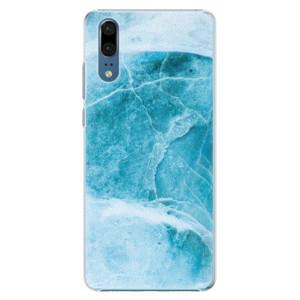 Plastové pouzdro iSaprio Blue Marble na mobil Huawei P20