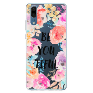 Plastové pouzdro iSaprio BeYouTiful na mobil Huawei P20