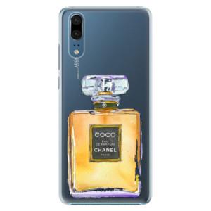Plastové pouzdro iSaprio Chanel Gold na mobil Huawei P20