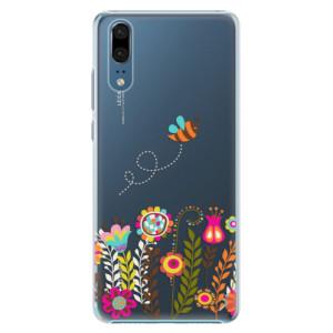 Plastové pouzdro iSaprio Včelka Pája 01 na mobil Huawei P20