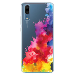 Plastové pouzdro iSaprio Color Splash 01 na mobil Huawei P20