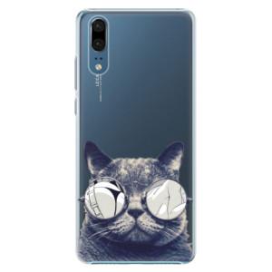 Plastové pouzdro iSaprio Šílená Číča 01 na mobil Huawei P20