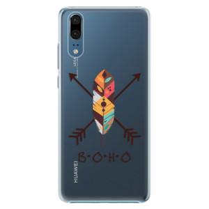 Plastové pouzdro iSaprio BOHO na mobil Huawei P20