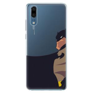 Plastové pouzdro iSaprio BaT Komiks na mobil Huawei P20