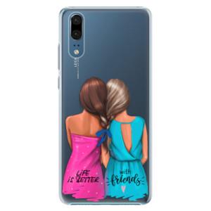 Plastové pouzdro iSaprio Best Friends na mobil Huawei P20