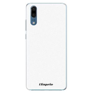 Plastové pouzdro iSaprio 4Pure bílé na mobil Huawei P20