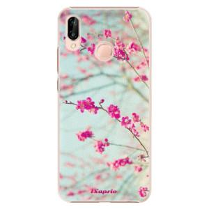 Plastové pouzdro iSaprio Blossom 01 na mobil Huawei P20 Lite