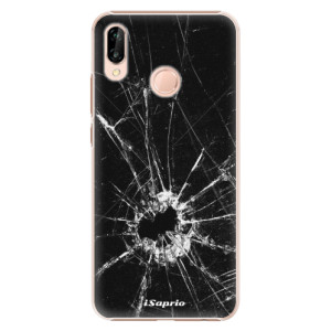 Plastové pouzdro iSaprio Broken Glass 10 na mobil Huawei P20 Lite