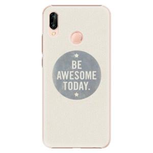 Plastové pouzdro iSaprio Awesome 02 na mobil Huawei P20 Lite