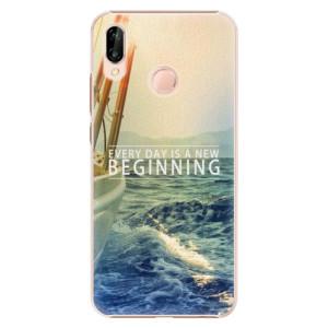 Plastové pouzdro iSaprio Beginning na mobil Huawei P20 Lite