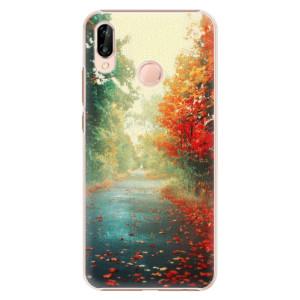 Plastové pouzdro iSaprio Podzim 03 na mobil Huawei P20 Lite