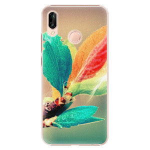 Plastové pouzdro iSaprio Podzim 02 na mobil Huawei P20 Lite