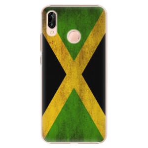 Plastové pouzdro iSaprio Vlajka Jamajka na mobil Huawei P20 Lite