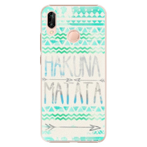 Plastové pouzdro iSaprio Hakuna Matata Zelená na mobil Huawei P20 Lite - poslední kousek za tuto cenu