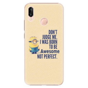 Plastové pouzdro iSaprio Be Awesome na mobil Huawei P20 Lite