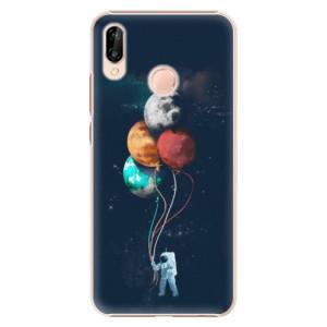 Plastové pouzdro iSaprio Balónky 02 na mobil Huawei P20 Lite