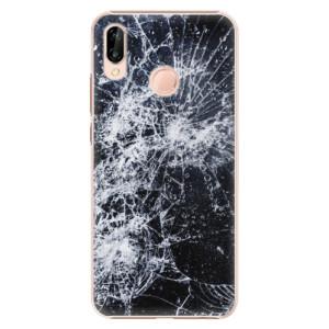 Plastové pouzdro iSaprio Praskliny na mobil Huawei P20 Lite