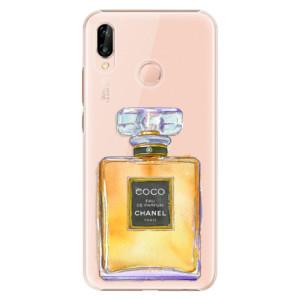 Plastové pouzdro iSaprio Chanel Gold na mobil Huawei P20 Lite