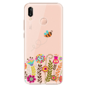 Plastové pouzdro iSaprio Včelka Pája 01 na mobil Huawei P20 Lite