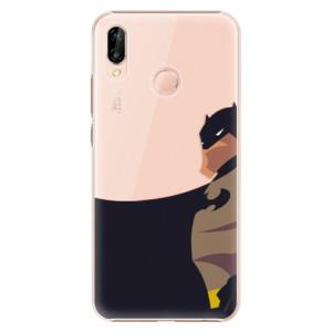 Plastové pouzdro iSaprio BaT Komiks na mobil Huawei P20 Lite