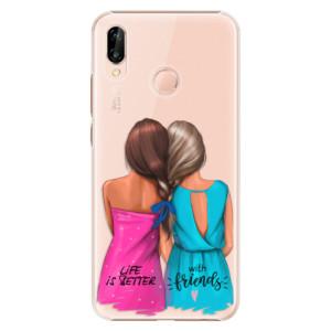 Plastové pouzdro iSaprio Best Friends na mobil Huawei P20 Lite