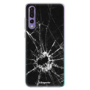 Plastové pouzdro iSaprio Broken Glass 10 na mobil Huawei P20 Pro