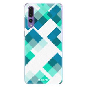 Plastové pouzdro iSaprio Abstract Squares 11 na mobil Huawei P20 Pro
