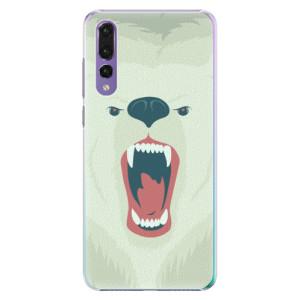 Plastové pouzdro iSaprio Naštvanej Medvěd na mobil Huawei P20 Pro