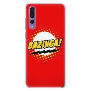 Plastové pouzdro iSaprio Bazinga 01 na mobil Huawei P20 Pro