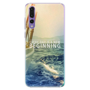 Plastové pouzdro iSaprio Beginning na mobil Huawei P20 Pro