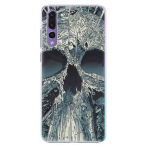 Plastové pouzdro iSaprio Abstract Skull na mobil Huawei P20 Pro