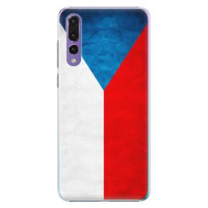 Plastové pouzdro iSaprio Česká Vlajka na mobil Huawei P20 Pro
