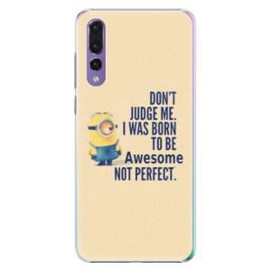 Plastové pouzdro iSaprio Be Awesome na mobil Huawei P20 Pro
